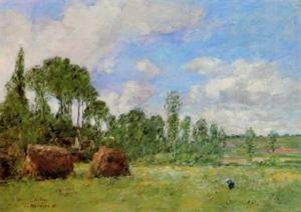 Oiseme at Harvest Time 1891